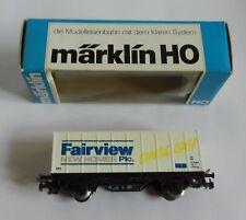 Marklin HO Advertising Fairview New Homes Plc Train Wagon