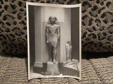 "Vintage Cairo Museum Photo Amenhotep Son of Hapu N.Y. Public Library 4 1/2"" x 7"""