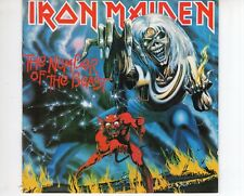 CD IRON MAIDEN	the number of the beast	UK EX- (B2153)