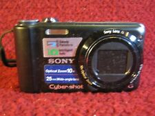 Sony Cyber-shot DSC-H55 14.1MP Digital Camera - Black NO CHARGER! UNTESTED!