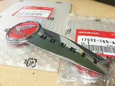 NOS Genuine Honda Tank Badges (Pair) for use with Honda Z50J Monkey Bike
