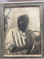 Circle Of John Singer Sargent Portrait Of Arab Black Man