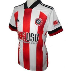 SHEFFIELD UNITED Adidas Home Football Shirt 2020-2021 NEW Men's Jersey Sheff Utd