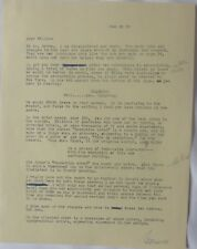 Norman Corwin signed letter/1963/Writer to Millie