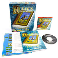 Heroes of Might and Magic for PC CD-ROM in Big Box by New World Computing, 1995