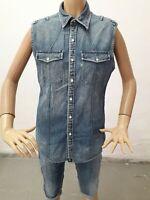 Camicia Jeans RALPH LAUREN Donna Shirt Woman Chemise Femme Taglia size M 8540
