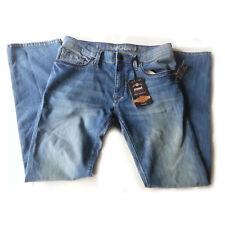 MAVI Jeans Men Size 32x33 Zach Easy Straight Leg Light Blue Low Rise 2% Elastane
