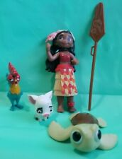 RARE Disney Moana Colorful Adventures Toys R Us Exclusive 5pc. Playset
