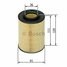 BOSCH Element Oil Filter F026407062 - Single