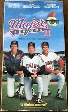 Major League II VHS 1994 Warner Bros Charlie Sheen Tom Berenger Corbin Bernsen
