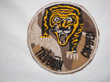"ARVN Ranger ""TIEU DOAN COP DEN"" Black Tiger Battalion Vietnam Shoulder Patch"