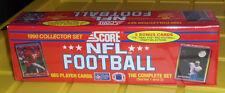 1990 SCORE NFL FOOTBALL COLLECTOR SET -665 CARDS-SERIES 1 &2 BNISB
