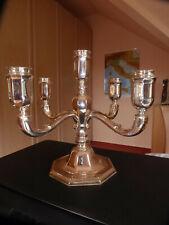 WILKENS - Fünfarmiger Leuchter - Silber 835 - ca. 830 Gramm