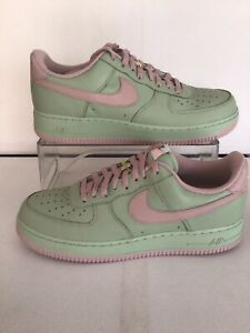Nike Air Force 1 Low 'ID By You'Pistachio/Dust Rose Pink M.11.5/W.13(DJ7015-991)