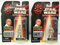 Star Wars Episode 1 Anakin Skywalker Tatooine Figure w/ Backpack Lot of 2 TY