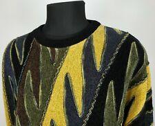 Tundra Canada Men's Coogi Style Sweater 90s Cosby Biggie Multicolor Size XXL