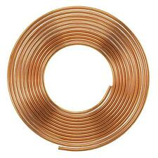 Soft Copper Pipe / Tube Pancake Coil, Outer Diameter -  1/4 '' x 25 swg, 1 pcs