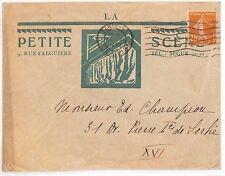AJ137 FRANCE ADVERT Cover 1932 *Petite Scene* THEATRE ARCHITECTURE {samwells}