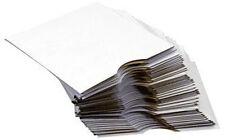 Serena White CD / DVD Cardboard Sleeves Wallet Mailer 25 Pack