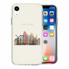 For Apple iPhone XR Silicone Case Amsterdam Skyline - S23