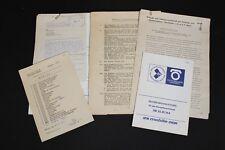 Old GDR Instruction manual Construction sites Pendant HB 20 81 164 Construction