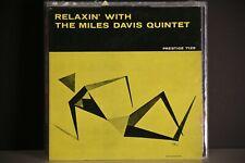 MILES DAVIS LP RELAXIN' PRESTIGE 7129 PRESS MONO 1958 Bergenfield Label