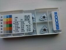 10 Seco carbide tips WNMG060408-M3 TP1501 ( WNMG 060408 06 04 08 WNMG332