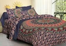 Indian Mandala Duvet Cover Boho King Quilt Comforter Cover Bohemian Bedding Set