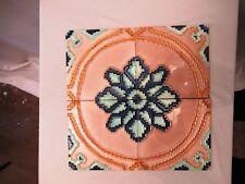 Antique Tile Art Nouveau Majolica Porcelain Japan Liberty Bran Collectibles *502
