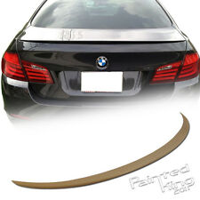 Stock in LA!UNPAINTED 2011+ BMW F10 M5 STYLE TRUNK SPOILER REAR WING 4DR ABS