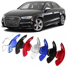 Alloy Steering Wheel DSG Paddle Extension Shifters Cover Fit For Audi S3 14-17