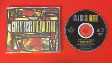 GUNS N ROSES LIVE AND LET DIE SHADOW 1991 GEFFEN GED21692 SINGLE MAXI CD