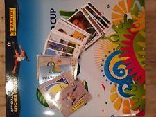 Panini WM 2014 Brasilien Komplett 640 Sticker + Leeralbum-WC - Fussball -Brazil