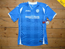 ST JOHNSTONE SHIRT age 12/14 Years HOME Soccer Jersey PERTH SAINTS 2015-16 Kit