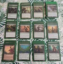 TOP Custom grünes Elfen Deck Magic the Gathering MTG Karten Elves viele Playsets