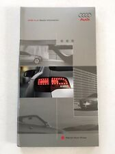 2006 Audi Car Media Press Kit Brochure - 3 disc A4 A3 A6 A8 S4 TT 2007 RS4 Q7