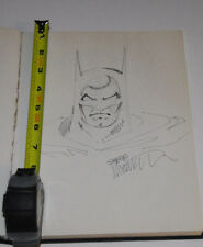 Steve Mitchell Batman 1992 San Diego Comic Con Full Page Splash Sketchbook Art !