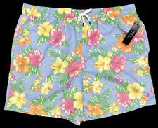 Polo Ralph Lauren Swim Trunks Board Shorts Blue Floral Size 2xb 2x