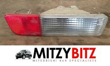 MITSUBISHI PAJERO MK3 3.2 DID 1999 OSR RH REAR BUMPER INDICATOR LIGHT LAMP