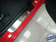Stainless Steel Door Sill Entry Guard Covers Protectors Hyundai Getz 5D 2002-