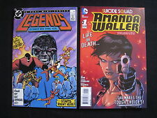 Legends #1 + Amanda Waller #1 1st Amanda Waller Suicide Squad Key NM Lot