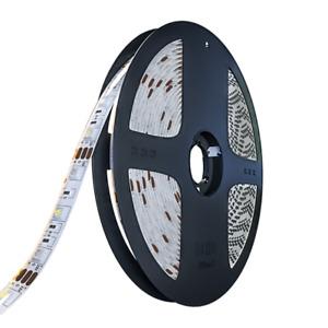 16.5FT 300 LEDS Strip Light 5050 RGB Ribbon Tape Roll Waterproof IP65 4PIN reel