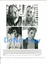 Keith Carradine Daryl Hannah  Moira Kelly Vincent Spano The Tie That Binds Photo