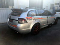 VE VF Commodore  ss sv sv6 maloo r8 hsv wagon carbon fiber roof spoiler wing