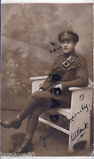 WW1 Soldier C 7670 Pte Albert Dufton 18th Battalion KRRC Kings Royal Rifle Corps