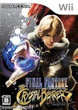Used Wii Final Fantasy Crystal Bearer Nintendo JAPAN JP JAPANESE JAPONAIS IMPORT