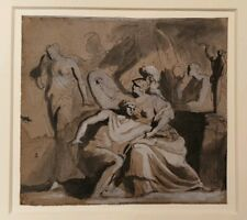 Superb 18th.Century Old Master Neo Classical  Drawing Italian 1700s GB Cipriani