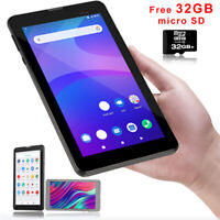 """7.0"""" Android 9.0 Quad-Core Tablet PC Phablet GSM Phone FREE 32GB SDHC Unlocked!"""