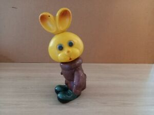 Vintage toy Hare celluloid 1970s USSR