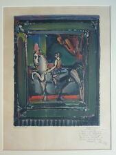 Georges Rouault (1871-1958)Lithographie L'Ecuyère Mourlot (v)